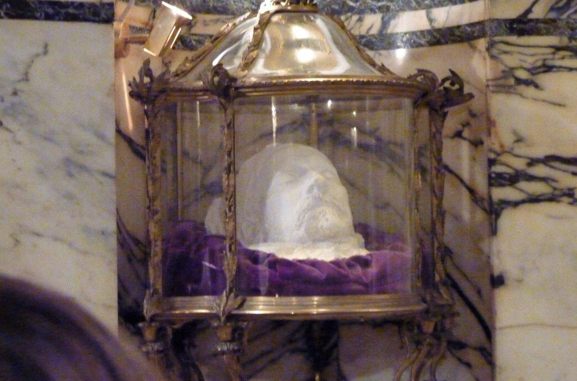 La maschera mortuaria di Pasteur